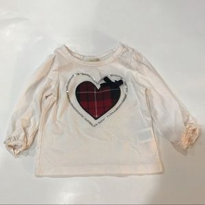 🎀 4/$15 Children's Place ♥️ Top Baby Girl 6-9M